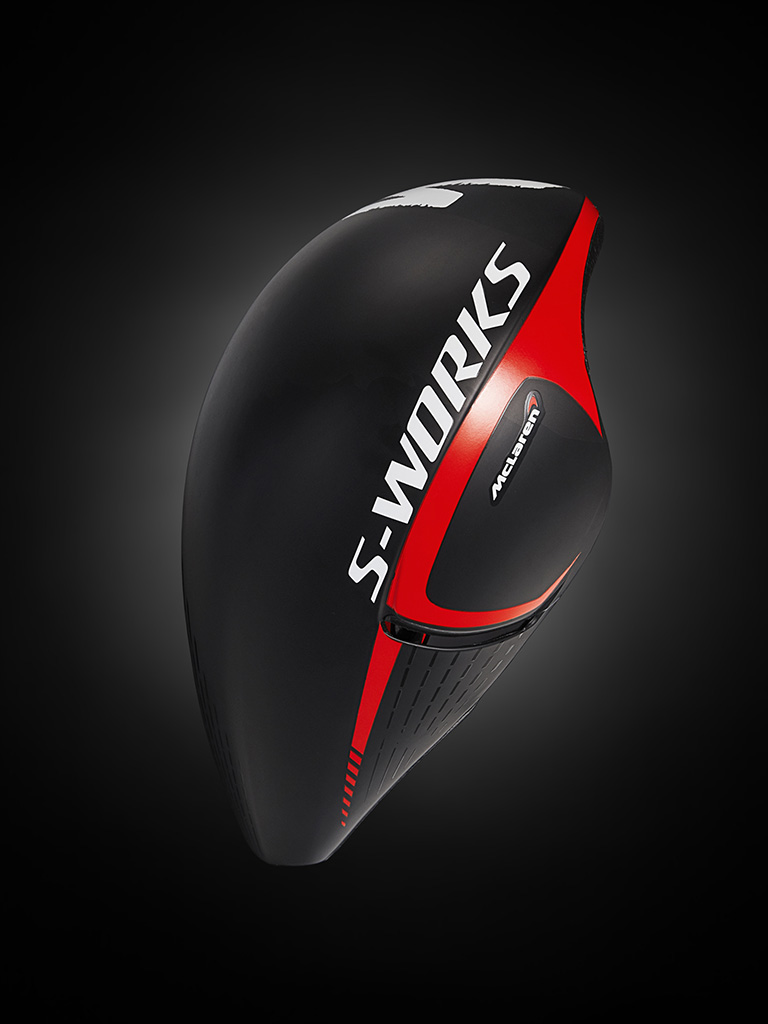 McLaren S-Works helmet photo