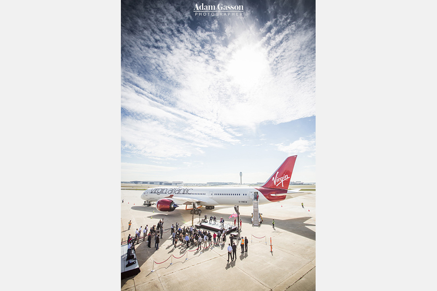 Virgin Atlantic Rudimental photos