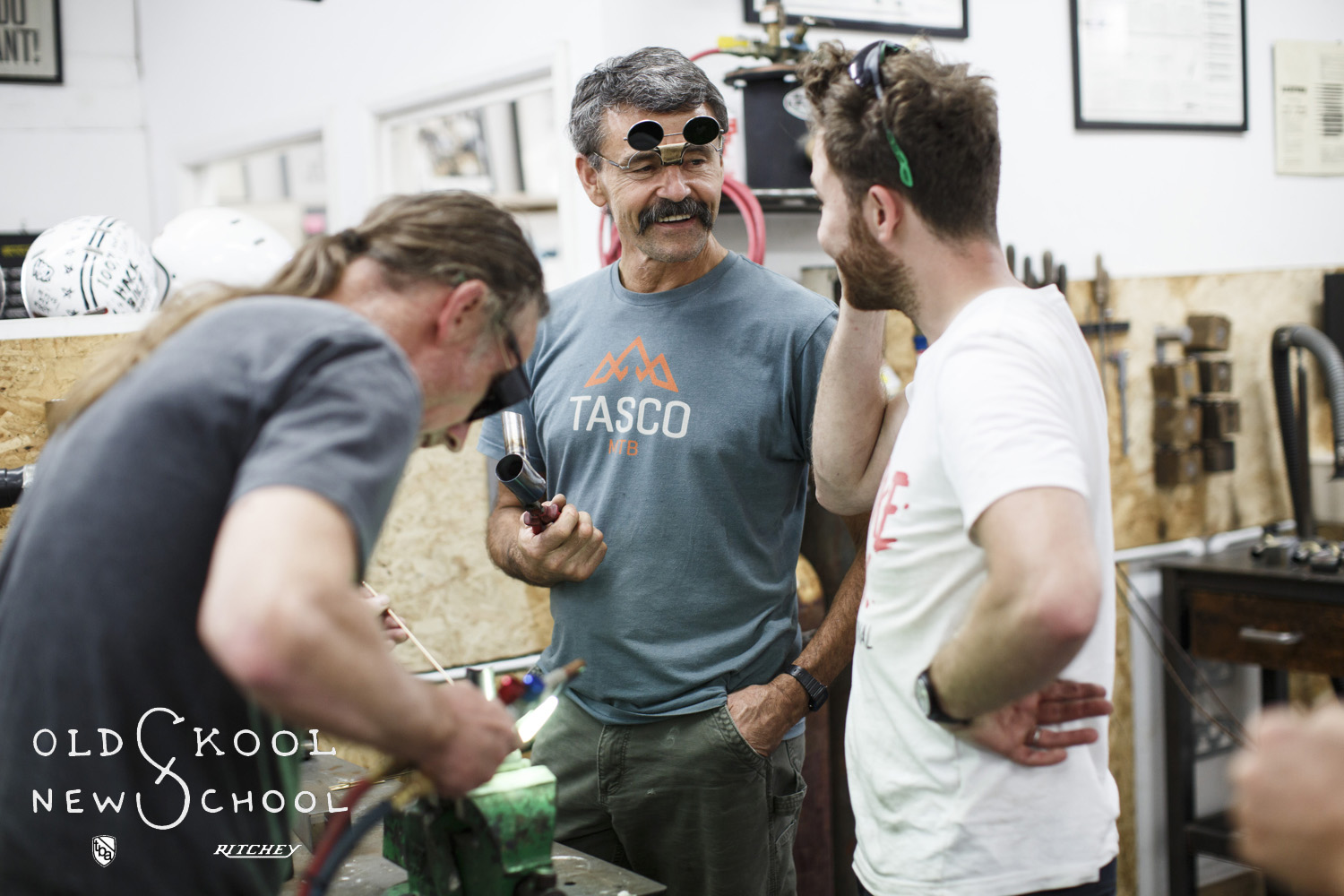 Tom Ritchey Bicycle Academy photographs